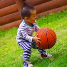 Little basketball player  (Only 14 month )